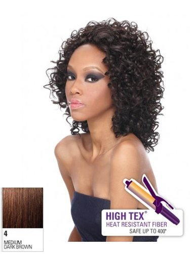 Outre Synthetic Lace Front Wig - Abella-4 by SUN TAI YANG