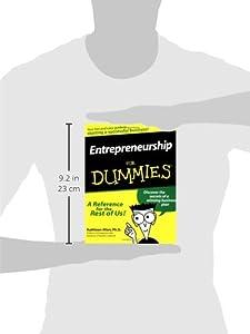 Entrepreneurship For Dummies from For Dummies