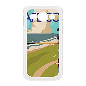 CApe Cod White Hard Plastic Case for Galaxy Ace 3 by Nick Greenaway + FREE Crystal Clear Screen Protector