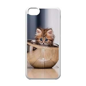 iPhone 5c Cell Phone Case White animals c77 1 Vibsl