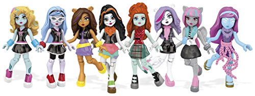 Mega Construx Monster High Ghouls Skullection