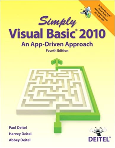 Microsoft Visual Basic 2010 Reloaded 4th Edition Pdf