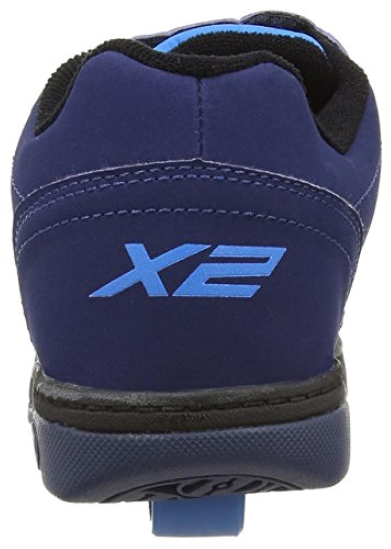 Heelys Dual Up Navy/New Blue Kids Heely X2 Shoe UK1/EU33