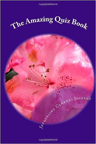 Read online The Amazing Quiz Book (The Amazing Quiz Book Series) PDF, azw (Kindle), ePub, doc, mobi