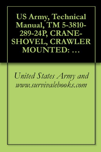 - US Army, Technical Manual, TM 5-3810-289-24P, CRANE-SHOVEL, CRAWLER MOUNTED: 12 1/2- 3/4 CU YD; DIESEL ENGINE DRIVEN, (NSN 3810-00-869-3092) BUCYRUS MODEL 22BM
