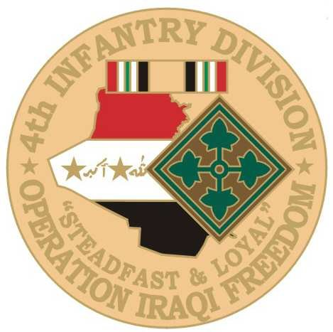 US Army 4th Infantry Division Operation Iraqi Freedom 1-1/8