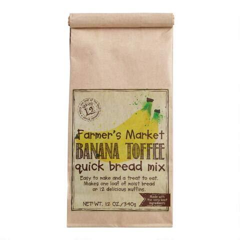 Farmer's Market Banana Toffee Quick Bread Mix