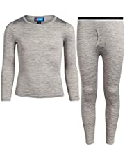 Only Boys 2-Piece Ultra Soft Fleece Lined Thermal Underwear Pant Set