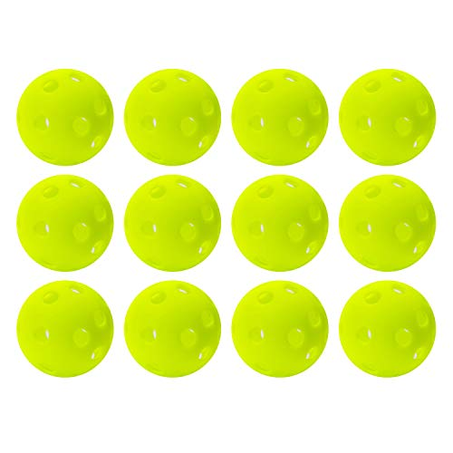 Franklin Sports Golf - Golf Balls- 12 Pack - Indestructible - Practice Golf Balls - Limited Flight - Plastic Training]()