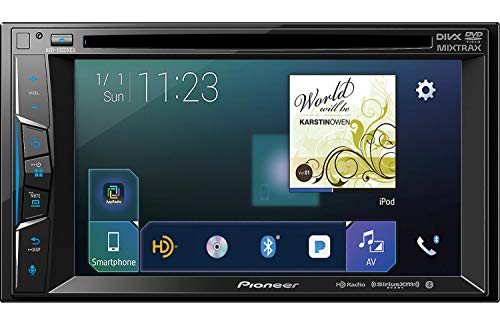 Pioneer AVH-1300NEX Multimedia DVD Receiver with 6.2' WVGA Display/Apple CarPlay/Built-in Bluetooth/SiriusXM-Ready/AppRadio Mode +