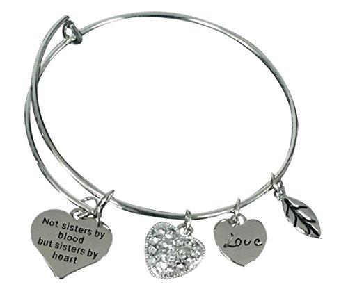 Best Friends Bracelet- Not Sisters By Blood But Sisters B...