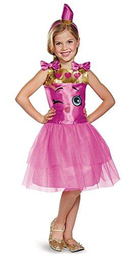 Lippy Lips Classic Shopkins The Licensing Shop Costume, Small/4-6X ()