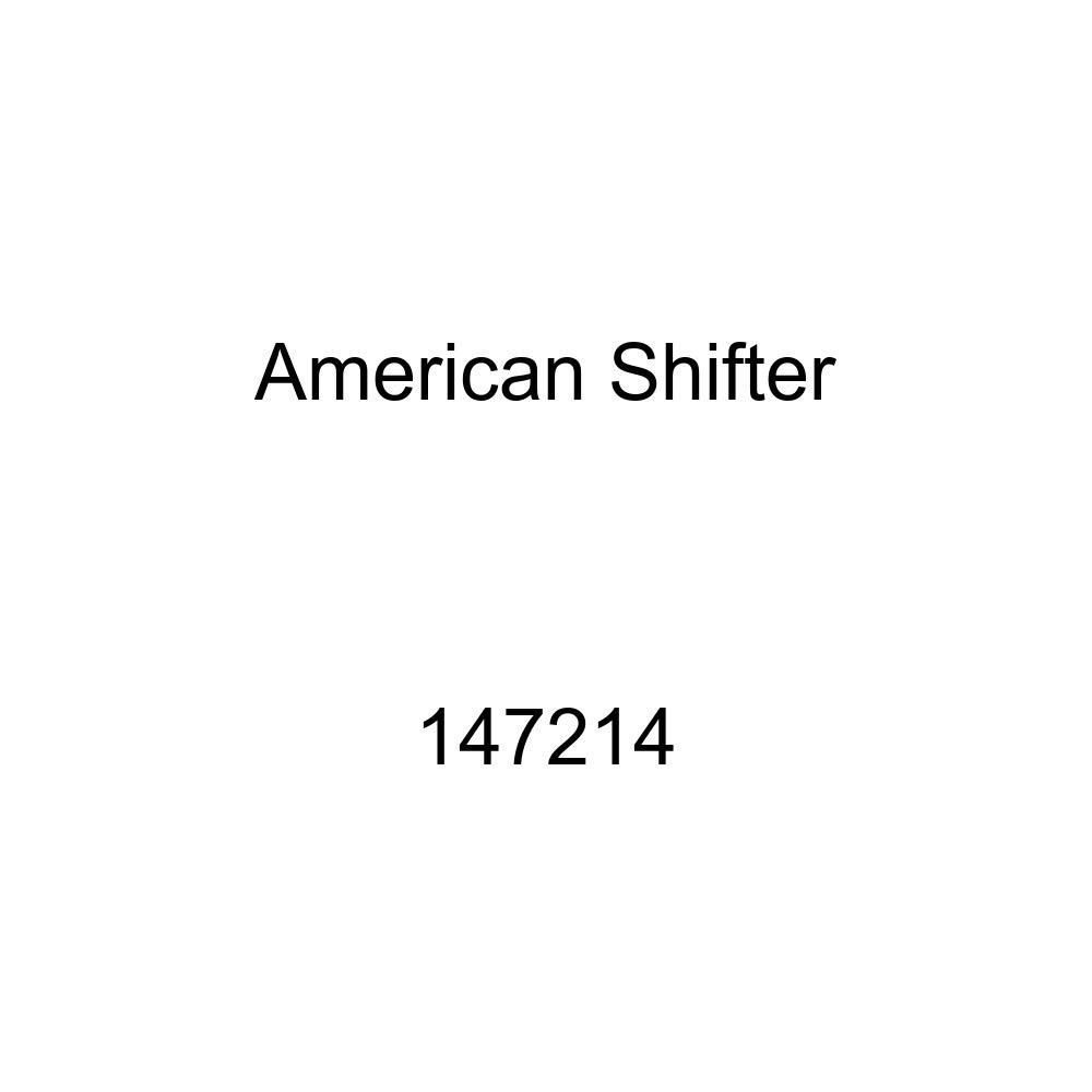 Orange Bolt American Shifter 147214 Black Retro Shift Knob with M16 x 1.5 Insert