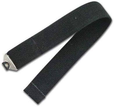 Metal Clips Black Champro Leg Guard Straps