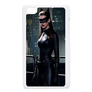 Catwoman Anne Hathaway iPod Touch 4 Case White DIY Gift xxy002_5046236