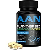 New !! Plant-Based Omega-3-6-9 Extreme - All Natural, Vegan Friendly, Ahiflower Oil - 750mg softgels (90 ct)