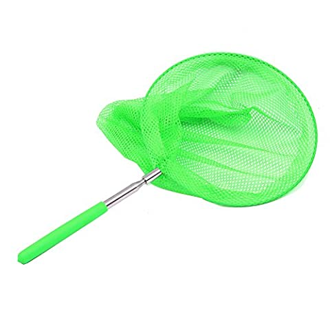 Tanchen Outdoor Extendable Butterfly Net Insect Bug Fishing Nets Tools Garden Kids Child Toy (Butterfly Pond Kit)