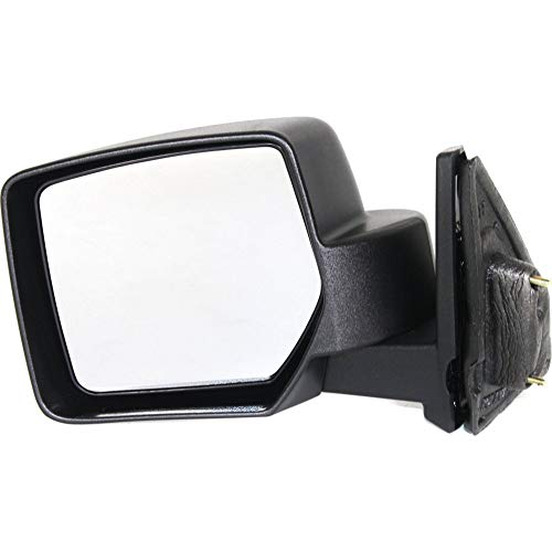 Kool Vue Manual Mirror For 2007-2016 Jeep Patriot Driver Side