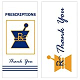 Kraft Pharmacy RX Prescription Bags #6 Includes a TSC Sticker (50 count)