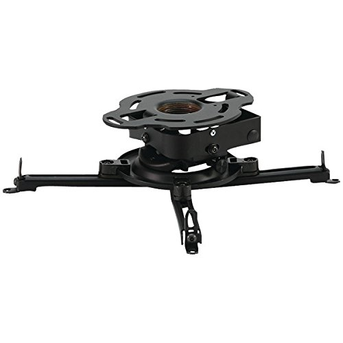Ceiling Projector Mount Flush Plate (Peerless PRSS-UNV Projector Mount, 25lbs Load Capacity, Silver)