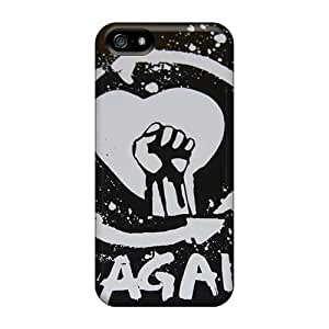 ChristopherWalsh Iphone 5/5s Scratch Resistant Cell-phone Hard Cover Provide Private Custom Attractive Rise Against Series [cXw19571HvxG]