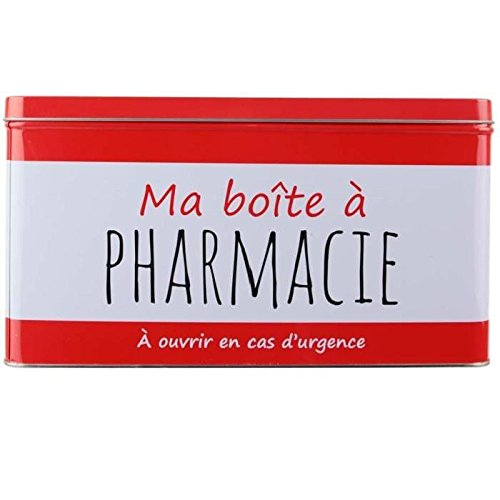 La recinto a bt6555/Caja de Farmacia Metal Rojo 29,50/x 18,50/x 16/cm