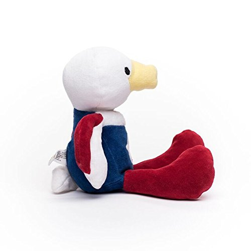 "Bears For Humanity American Eagle Stuffed Animal - Organic Eagle is a Non-Toxic, Patriotic Plush 12"" Toy"