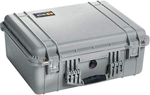 Price comparison product image Pelican 1550 Camera Case With Foam (Silver)