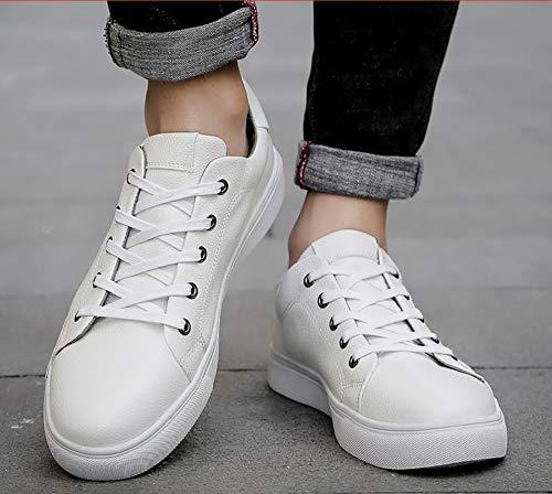 autunno scarpe sportive scarpe vulcanizzate cinghia PU da uomo sportive moda piatto uomo scarpe primavera HCBYJ e fondo Scarpe 0CwUAq