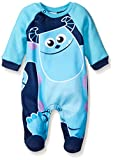 Disney Baby Boys' Monsters Inc. Sully Coverall, Blue, 3-6 Months