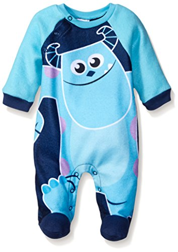 Disney Baby Boys' Monsters Inc. Sully Coverall, Blue, 3-6 Months (Baby Monsters Inc)
