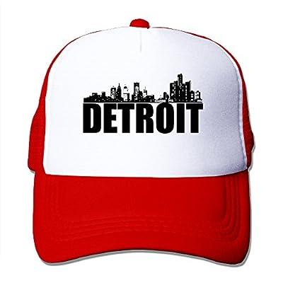 Detroit Motor City Great Lakes Tiger Trucker Hat Snapback Cap