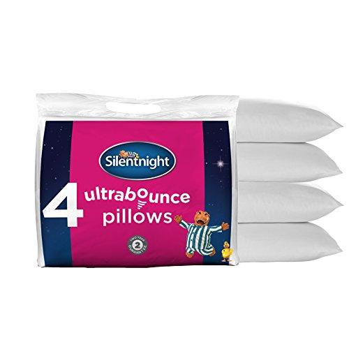 -[ Silentnight Ultrabounce Pillow, Pack of 4  ]-