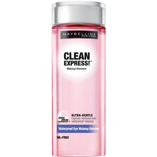 Maybelline New York Clean Express Waterproof Eye Makeup Remover, 4 Fluid Ounce