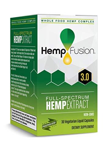 - HempFusion Hemp Extract 3.0-30 Vegetarian Capsules