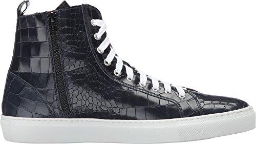 Donald J Pliner Uomo Lenio-94 Fashion Sneaker Blu