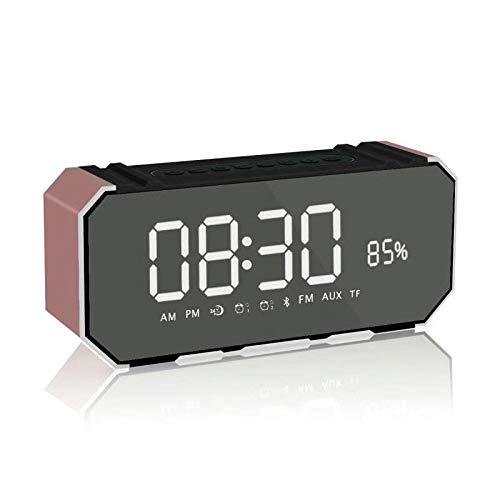 xingganglengyin Bluetooth Speaker Card Alarm Clock with Display Bluetooth Desktop Audio subwoofer Explosion by xingganglengyin (Image #5)
