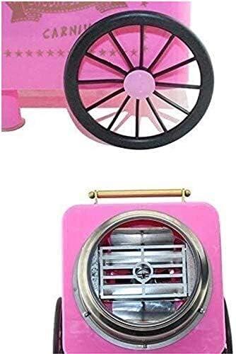 zyl Machine de Fabrication de Barbe à Papa, Nostalgie Dur et sans Sucre Fabricant de Barbe à Papa Bricolage Enfants Fabricant de Guimauve de Barbe à Papa