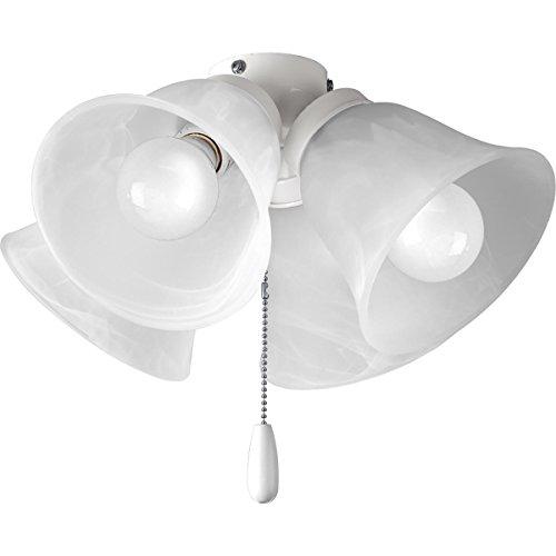 Progress Lighting P2643-30WB Fan Light Kit, White ()