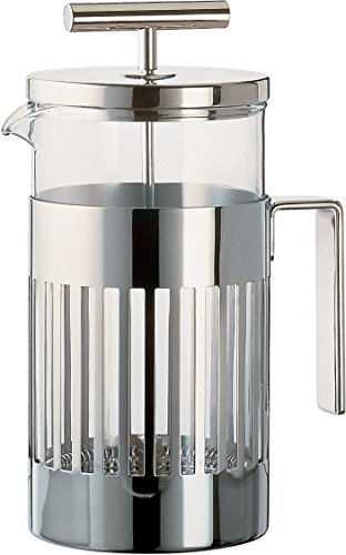 Alessi 9094/8 Press Filter Coffee Maker, Silver by Alessi