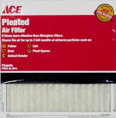 12 each: Ace Pleated Furnace Air Filter (84804.012430)