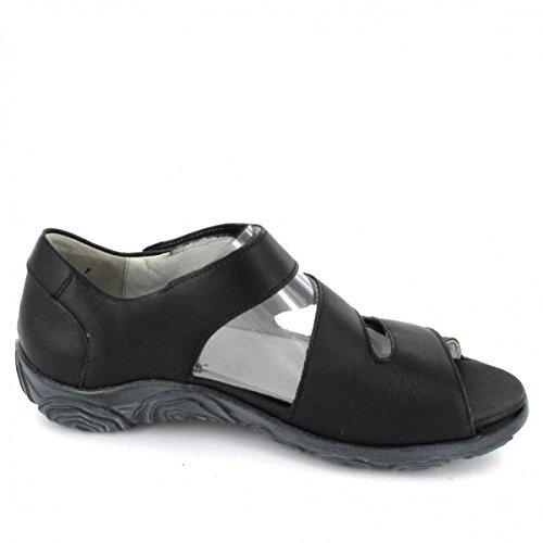Waldläufer Sandalette Haruna, Farbe: schwarz