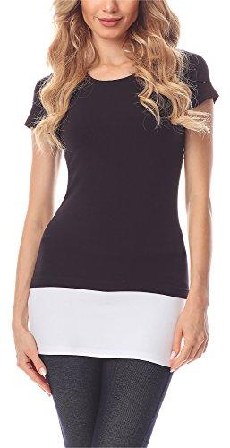 Ms10 Rallonge Ceinture Femme Moulante T 202 Jupe Mini Blanc Merry Extension Style shirts OPwkn0
