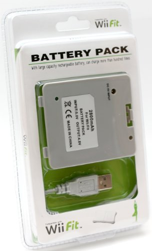 wii balance board rechargeable battery pack instructions