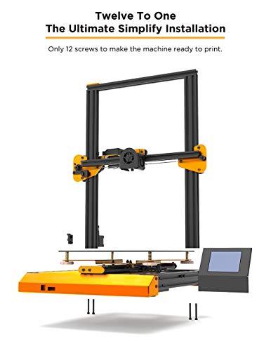 TEVO Nereus 3D Printer Metal Frame Power Off Resume 3 5