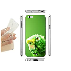 FUNDA CARCASA SLIM PARROT VERDE PARA IPHONE 6 PLUS 6S PLUS TPU