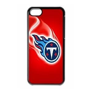 IPhone 5C Cases Tennessee Titans Logo, IPhone 5C Cases Tennessee Titans, [Black]