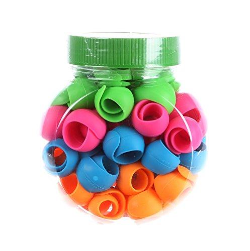 Smartneedle 60 Pc Jar Peels Spool Huggers