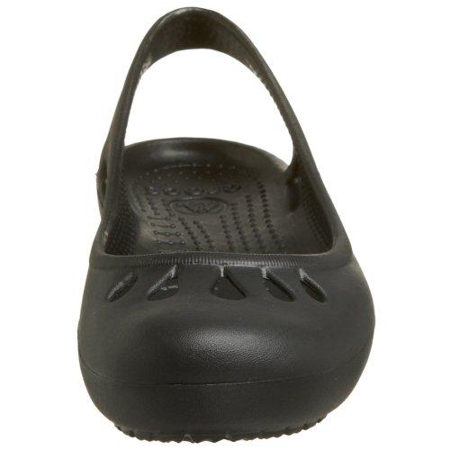 Crocs Malindi - Zapatos planos para mujer, color Nero (Black)