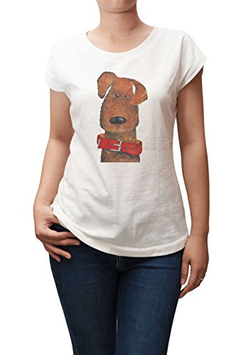 Dog In Red Dog Collar Print 100% Cotton Casual Wear T-shirt Plus Size WTS_02 (Print Cotton Dog Collar)